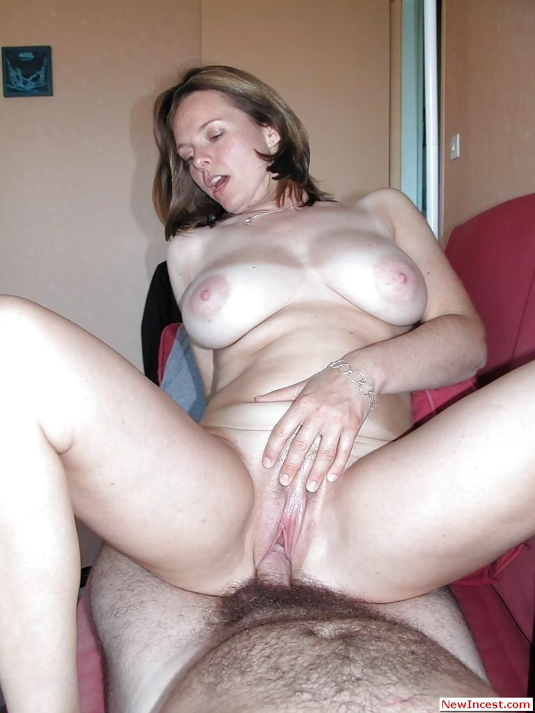 Step Son Fucks Mom Under Table